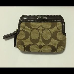 COACH Wallet with monogram